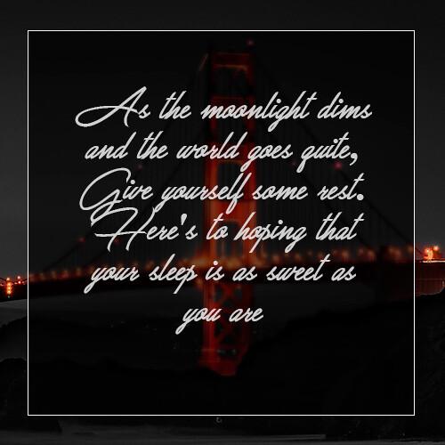 goodnight-message-with-bridge-at-night