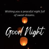 goodnight-message-with-sky-lanterns