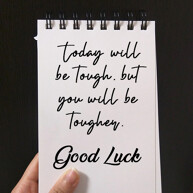 good-luck-quote-on paper