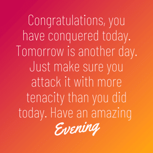 have-an-amazing-evening-message-image